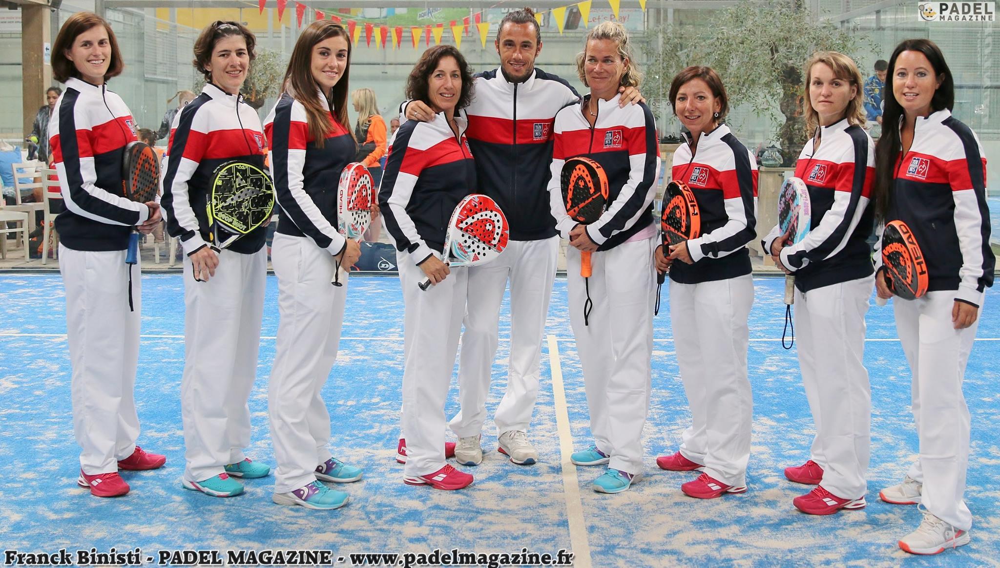 Résultats des qualifications des championnats du monde de padel par équipe dames 2016