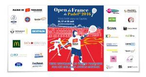 Affiche OPen de France de padel 2016