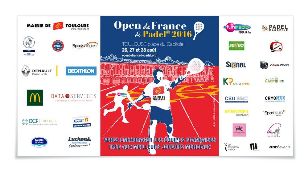 Bloquez vos dates pour L'Open de France de Padel 2016 fin août