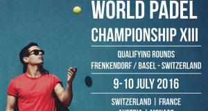 affiche championnats du monde de padel 2016 qualifcation