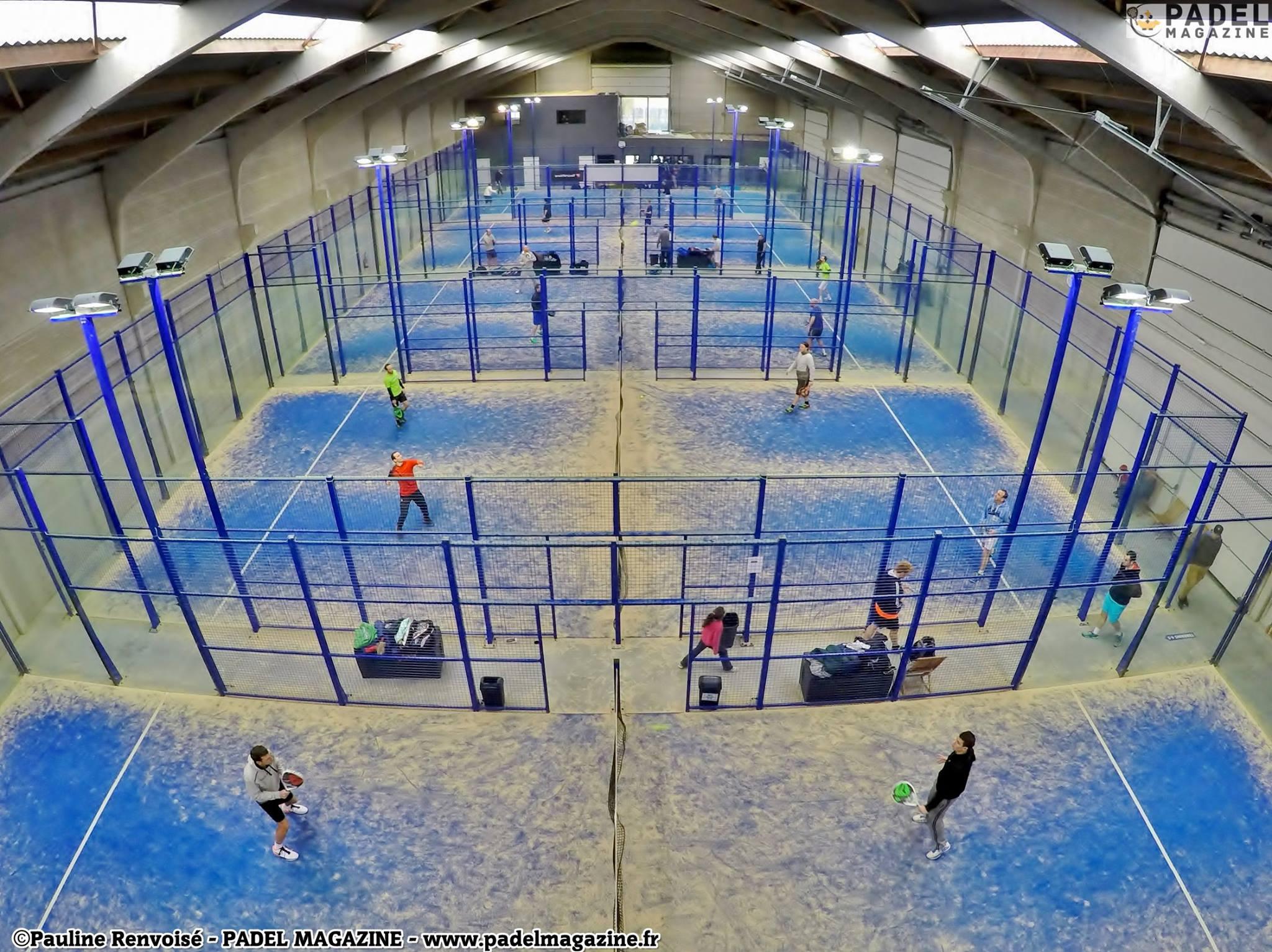 Indoor Outdoor House Padel Attitude Le Plus Grand Club De Padel Indoor Padel