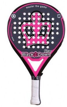 BLACK CROWN STAR raquette padel