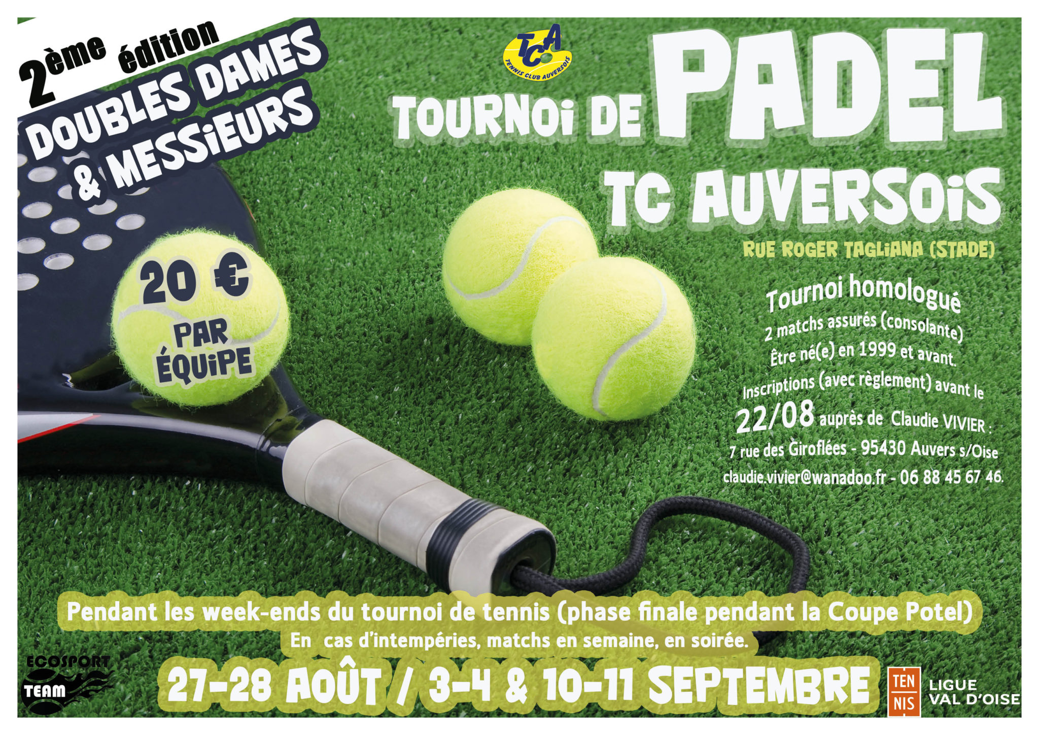 tennis padel auvers