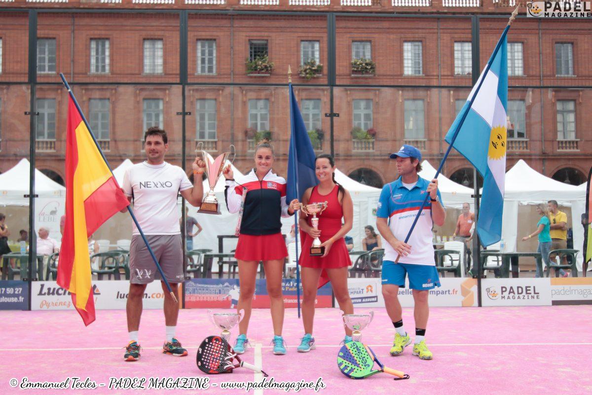 Clergue / Casanova et Clara / Capitani remportent L'Open de France 2016