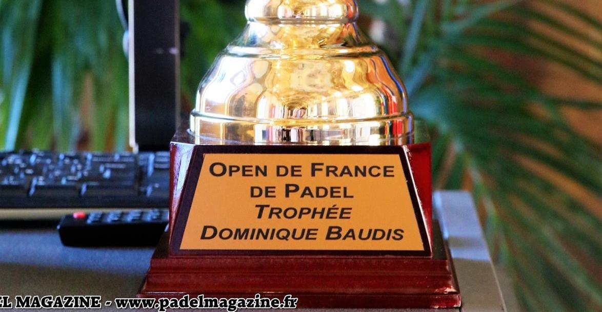 Horaires définitifs de l'Open de France de Padel
