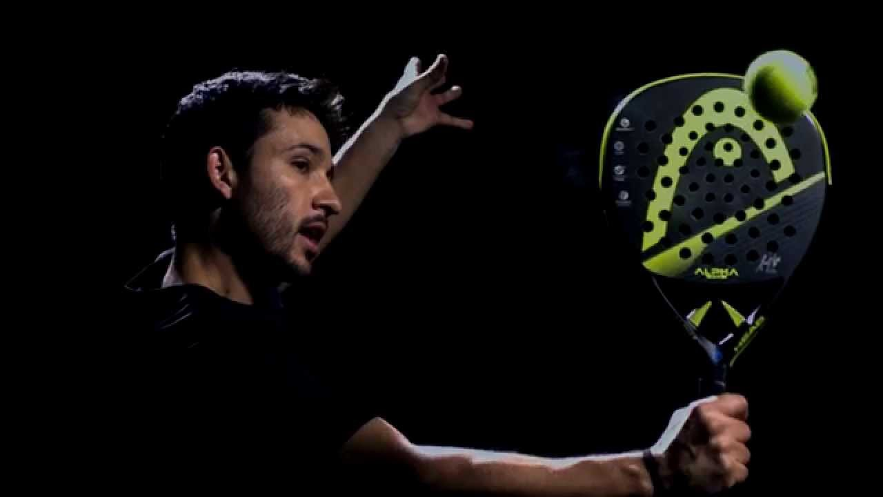 head alpha pro padel racket