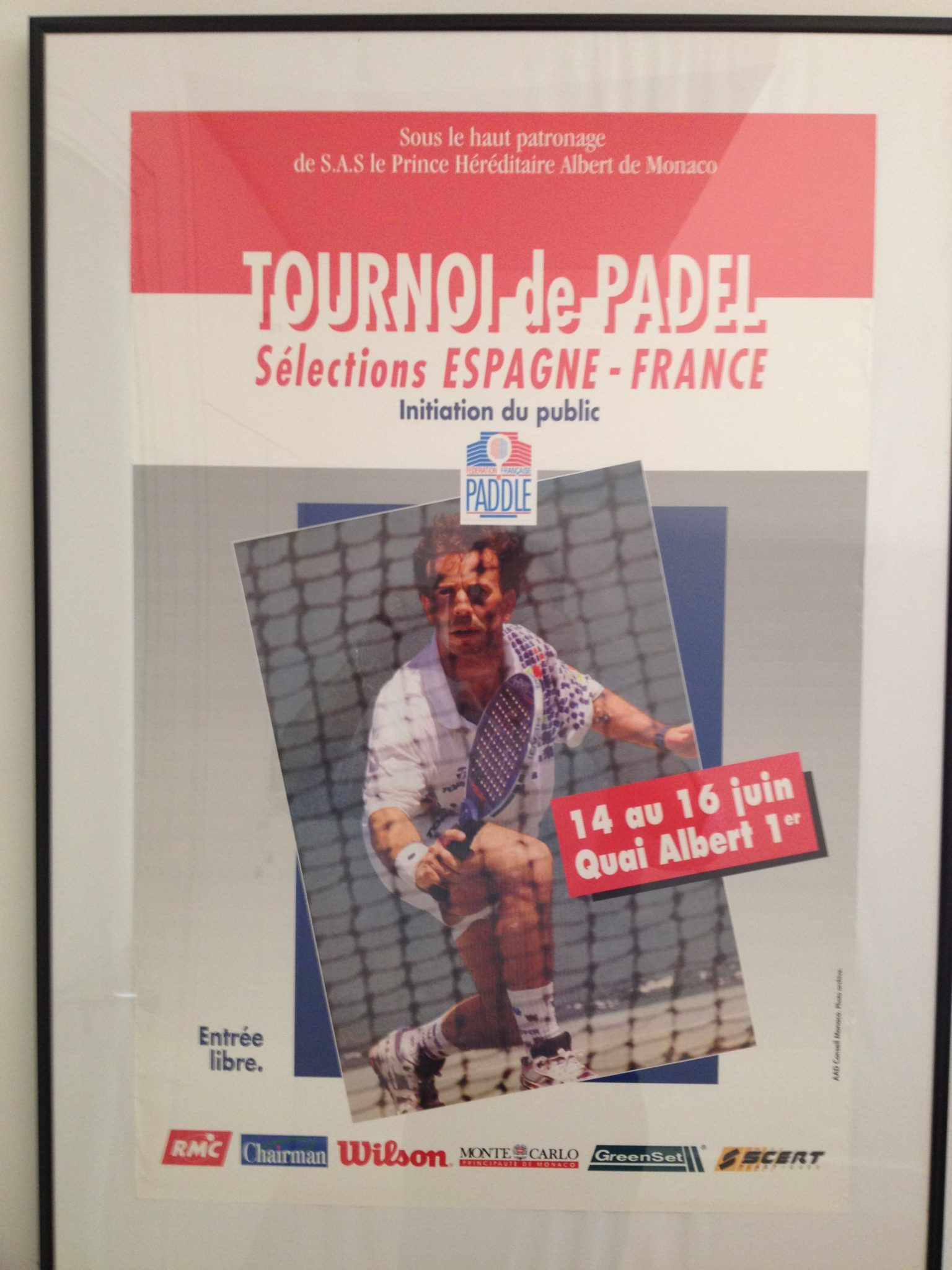 historia Padel Monako