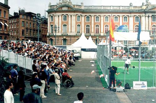 L'Open de France de padel en la présence du Ministre des Sports