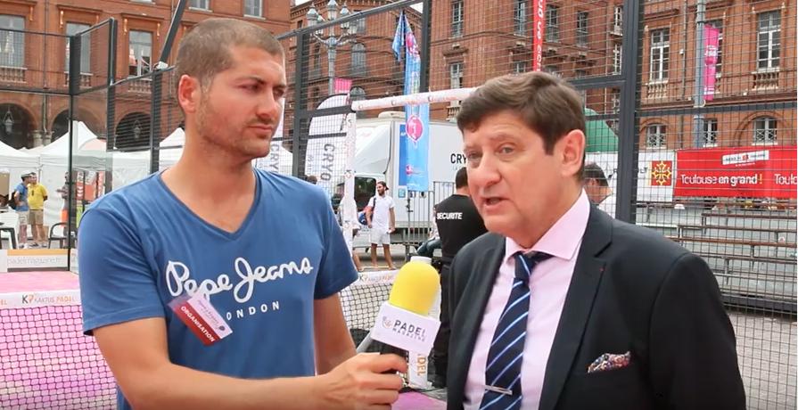 """Patrick Kanner : """"le padel aux Jeux Olympiques, une possibilité"""""""