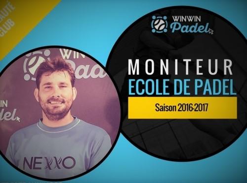 José Luis Salines, il nuovo allenatore di WinWin Padel
