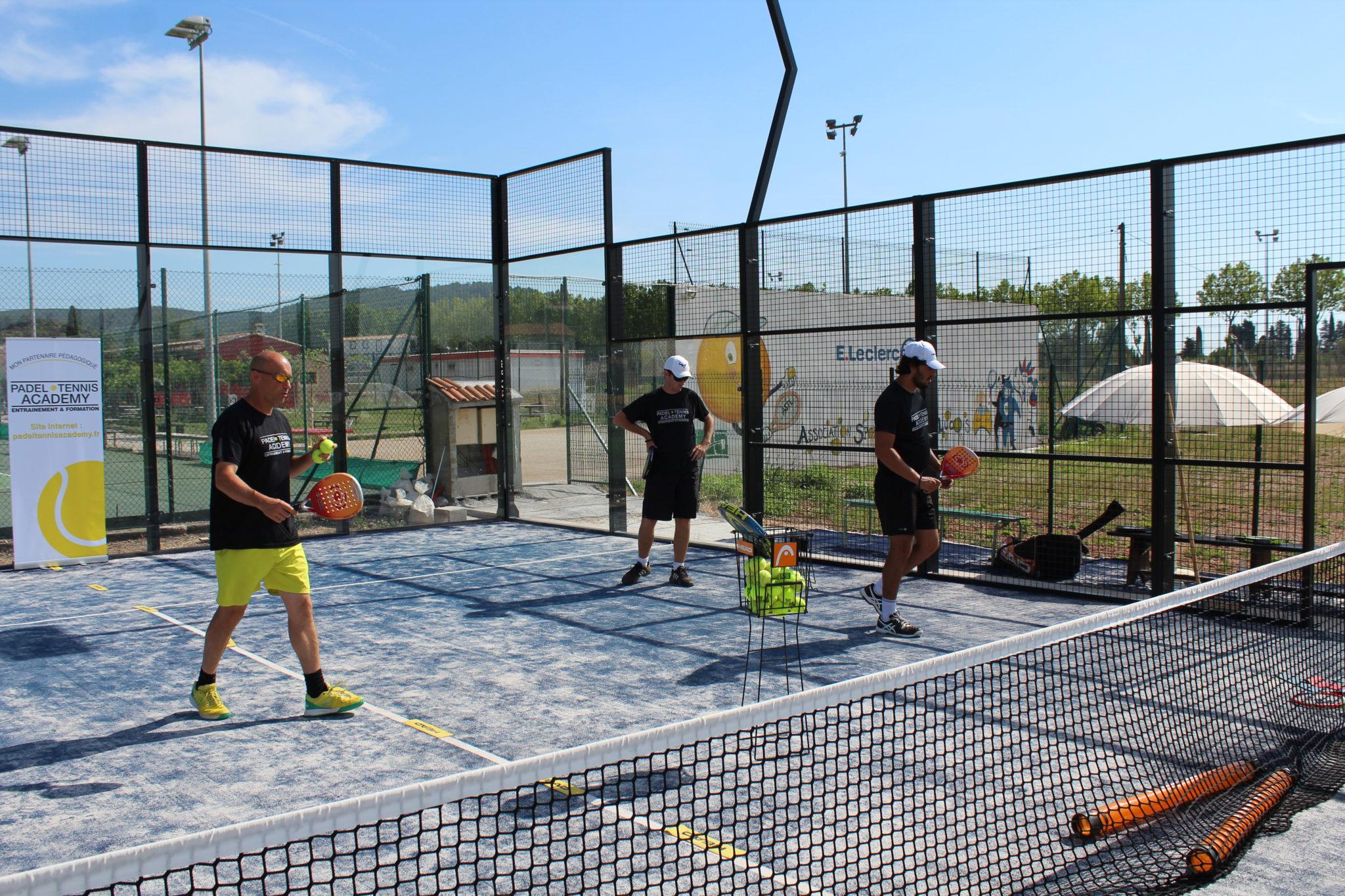 L'AS Tennis Lucois poursuit son développement avec Cédric Carité