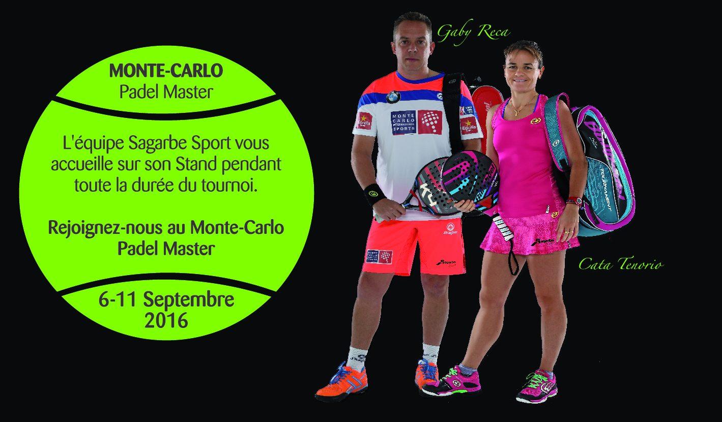 Sagarbe Sports vous invite au Monte Carlo Padel Master