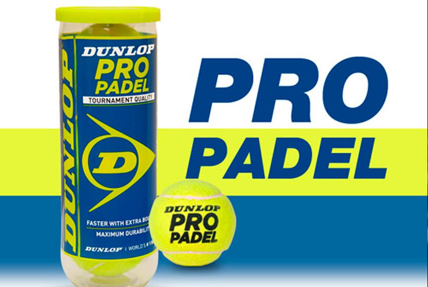 La palla padel Dunlop convalidato dalla FIP