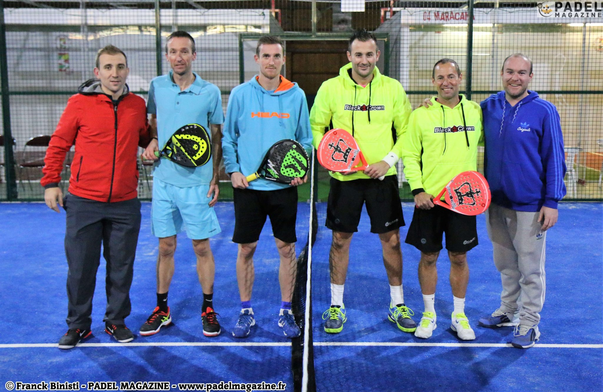 Lapouge / Veber wins the Master My Padel Passion 2016