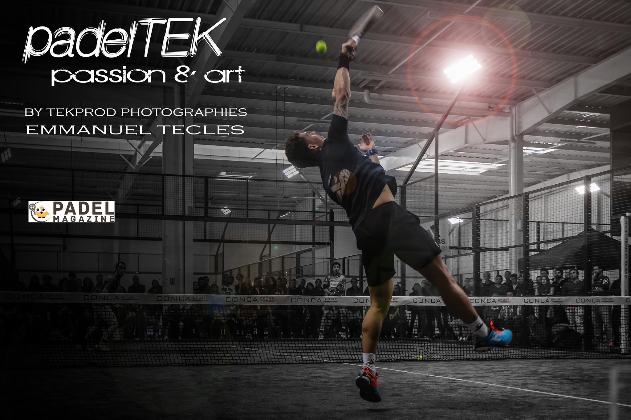 PadelTEK : les photos pros de padel by Emmanuel Tecles