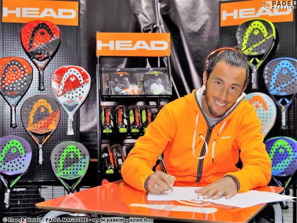 HEAD prolonge son partenariat avec le Champion de France et d'Europe Robin HAZIZA