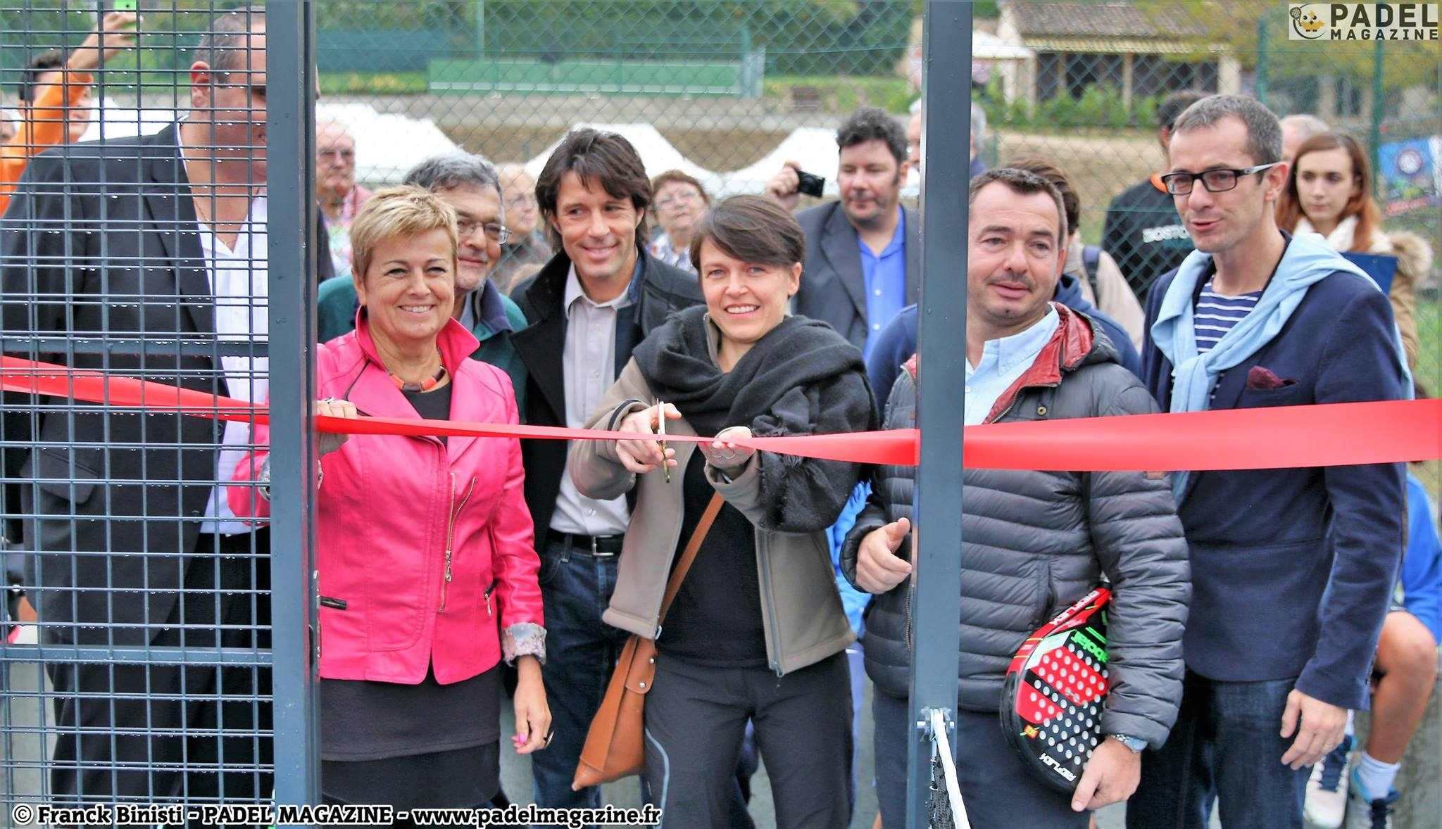Le Tennis Club de Mouans Sartoux inaugure ses 2 premiers padel