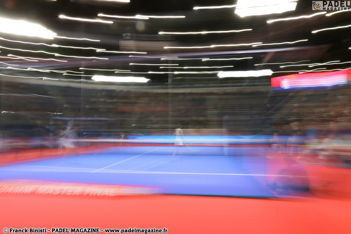 A Master of the World Padel Tour who must pay attention!