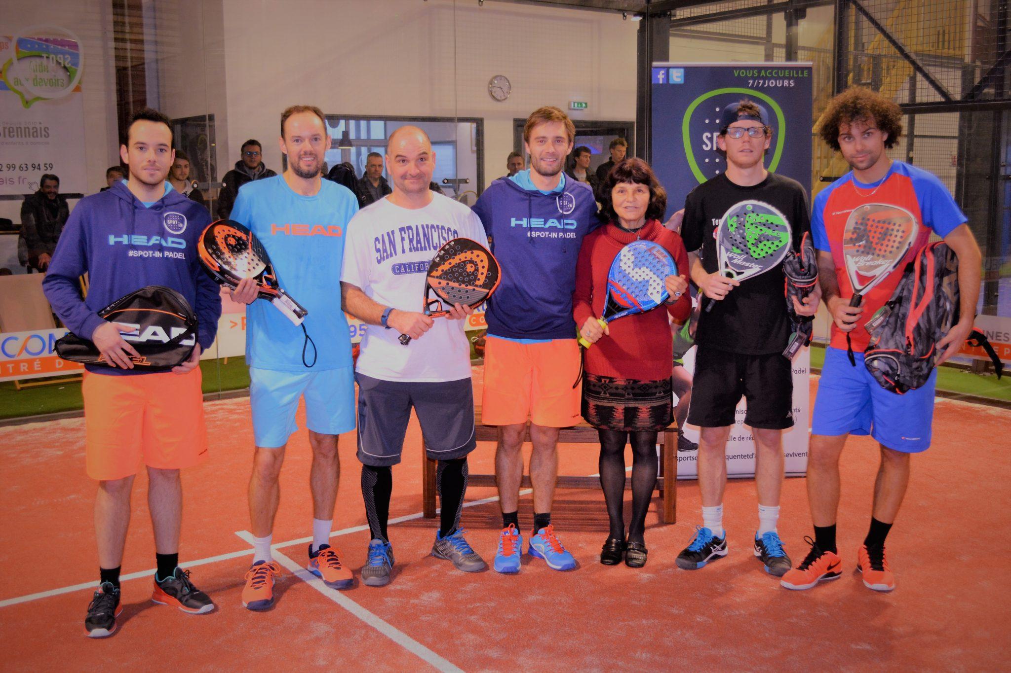 Devrand / Meslin remporte l'Open du Spot-in Rennes