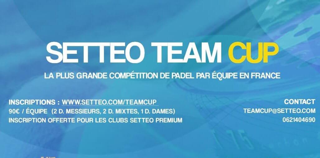 Tuto registra una squadra alla SETTEO TEAM CUP
