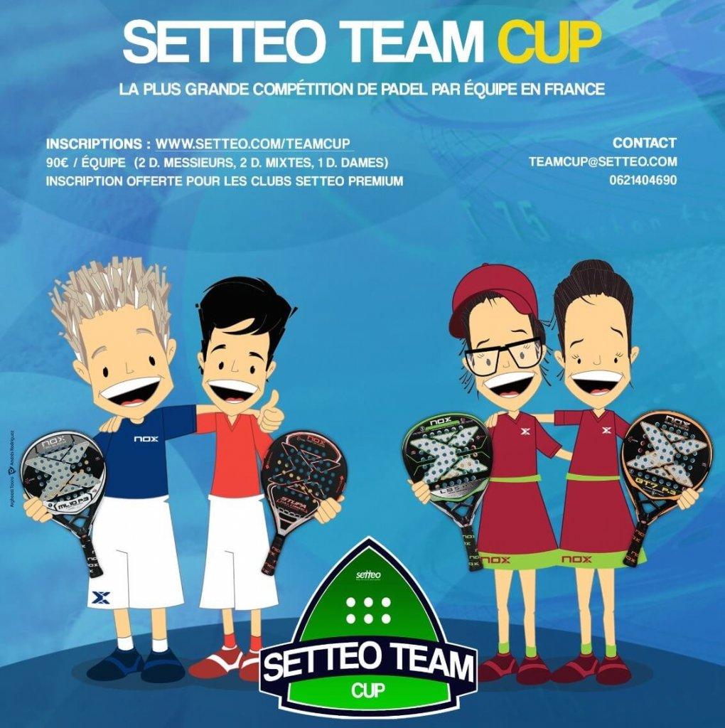 Affiche Setteo Team Cup