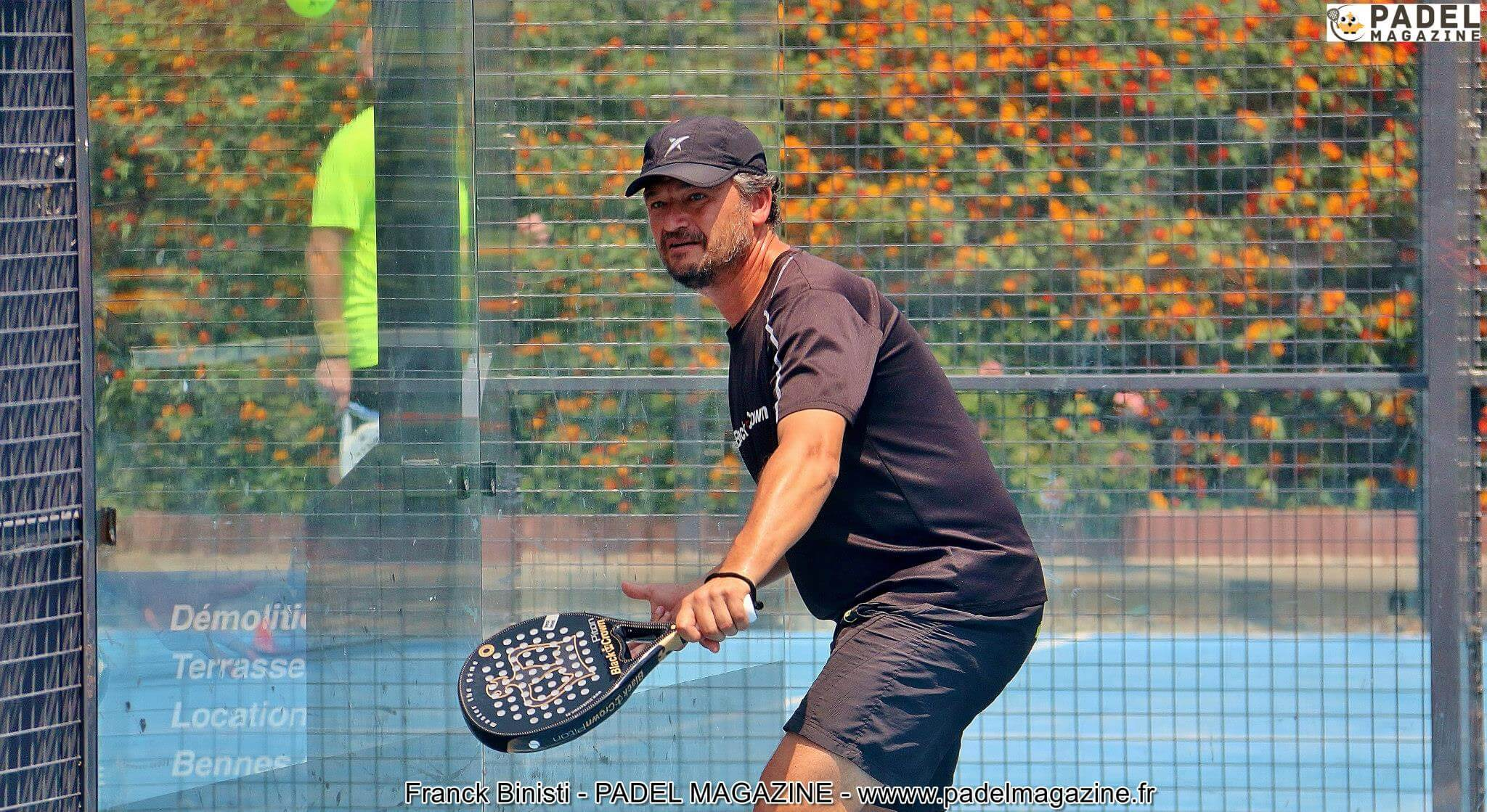 "Alain Heny: ""The padel, a boost """
