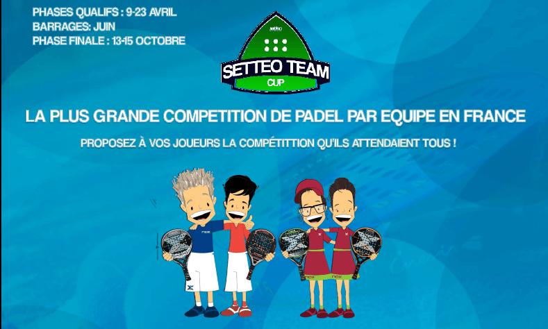 Setteo Team Cup : Dernier jour d'inscription