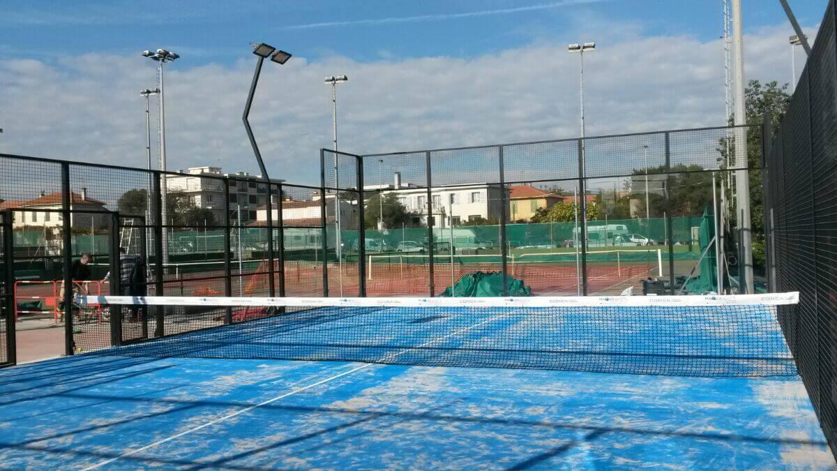 Conca Sport développe un terrain de padel constitué de cadres