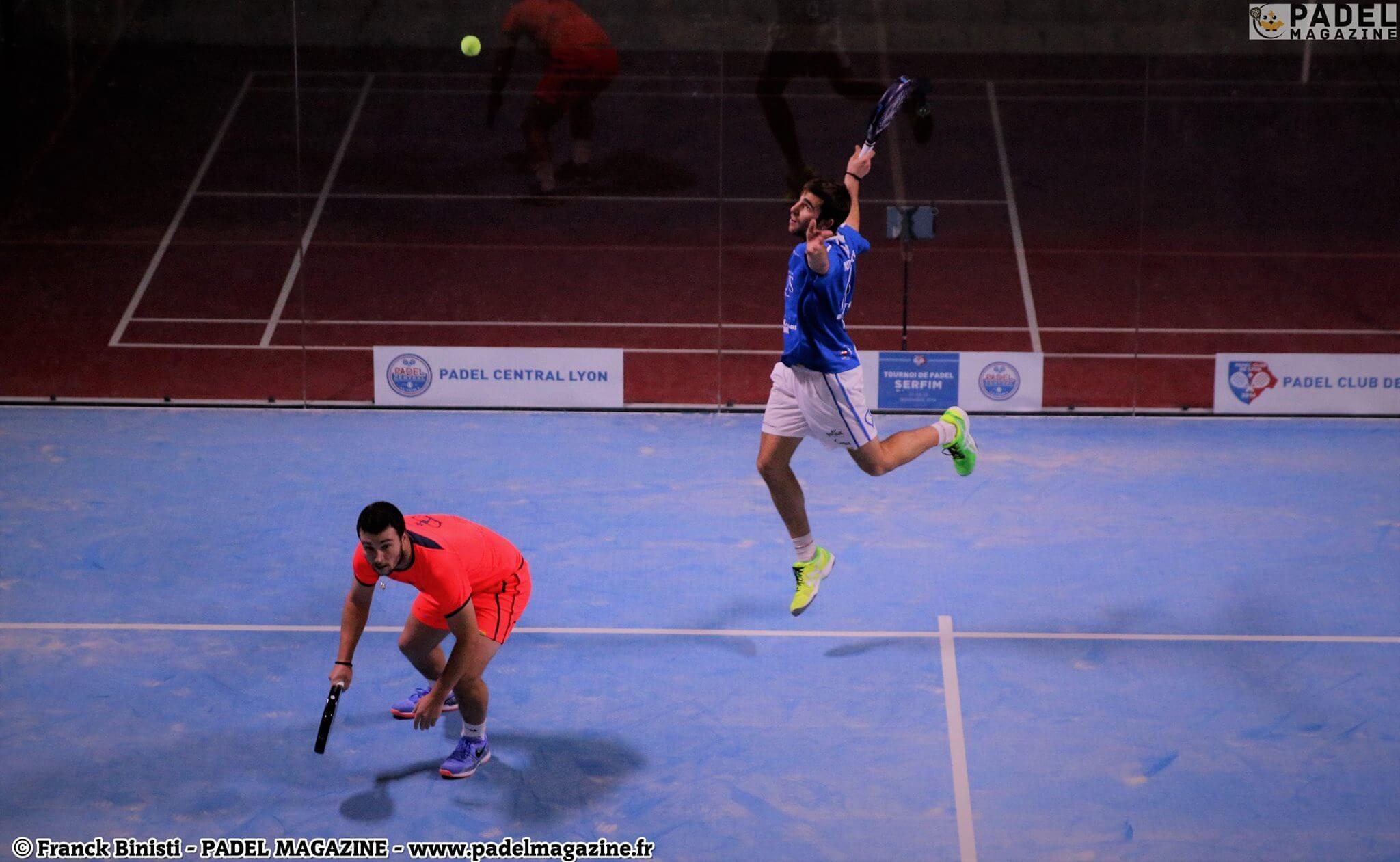 Aitor Garcia et Justin Lopes remportent l'Open de Lyon