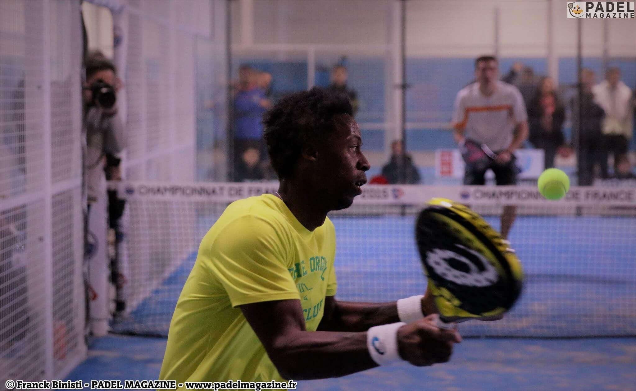 Monfils : OUI au padel et PAS de Coupe Davis