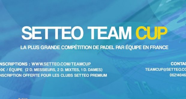 Affiche Setteo Team Cup