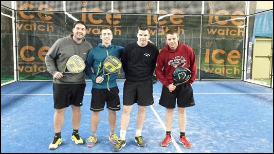 Le Hainaut (Belgique) se lance dans la compétition de PADEL !