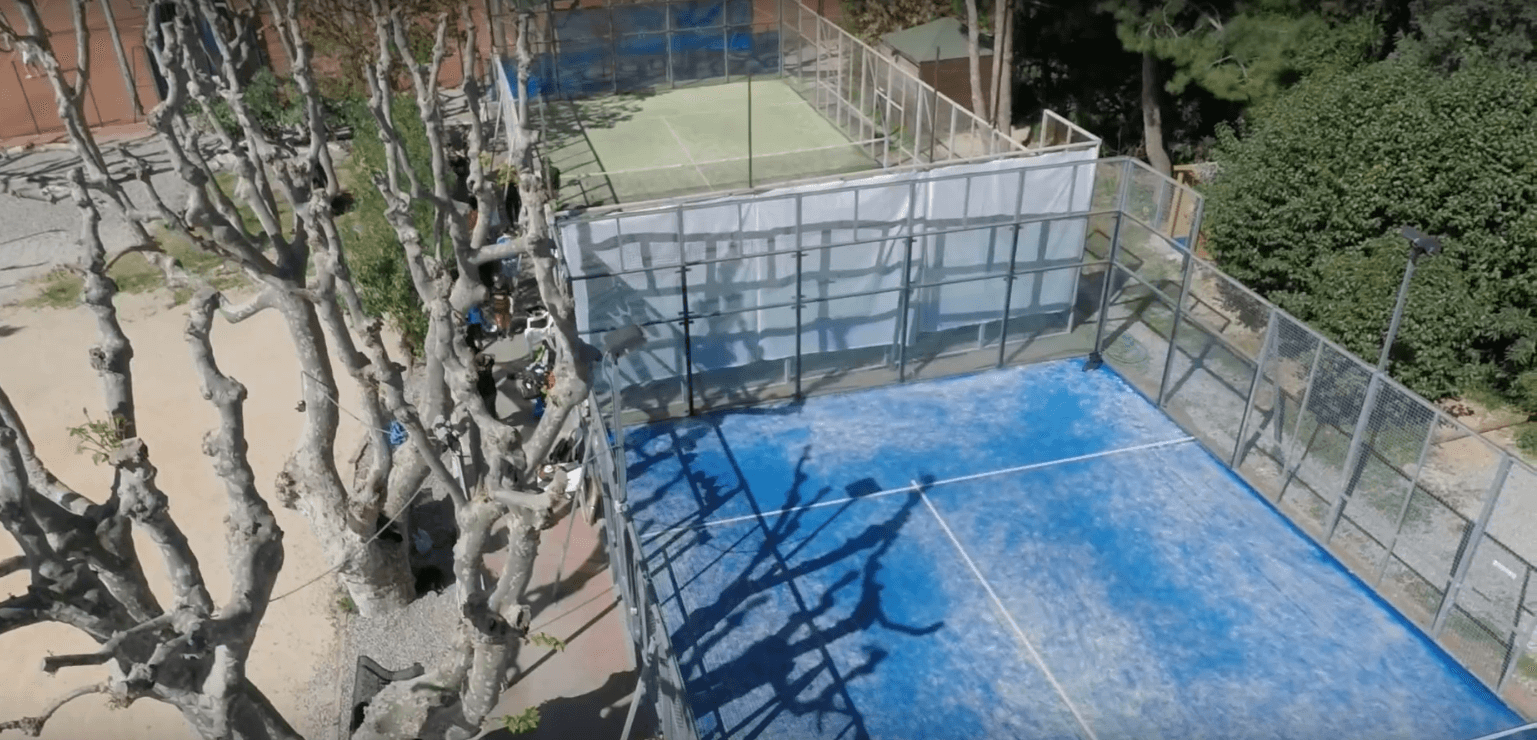 Focus nel video di Padel TC Marseille