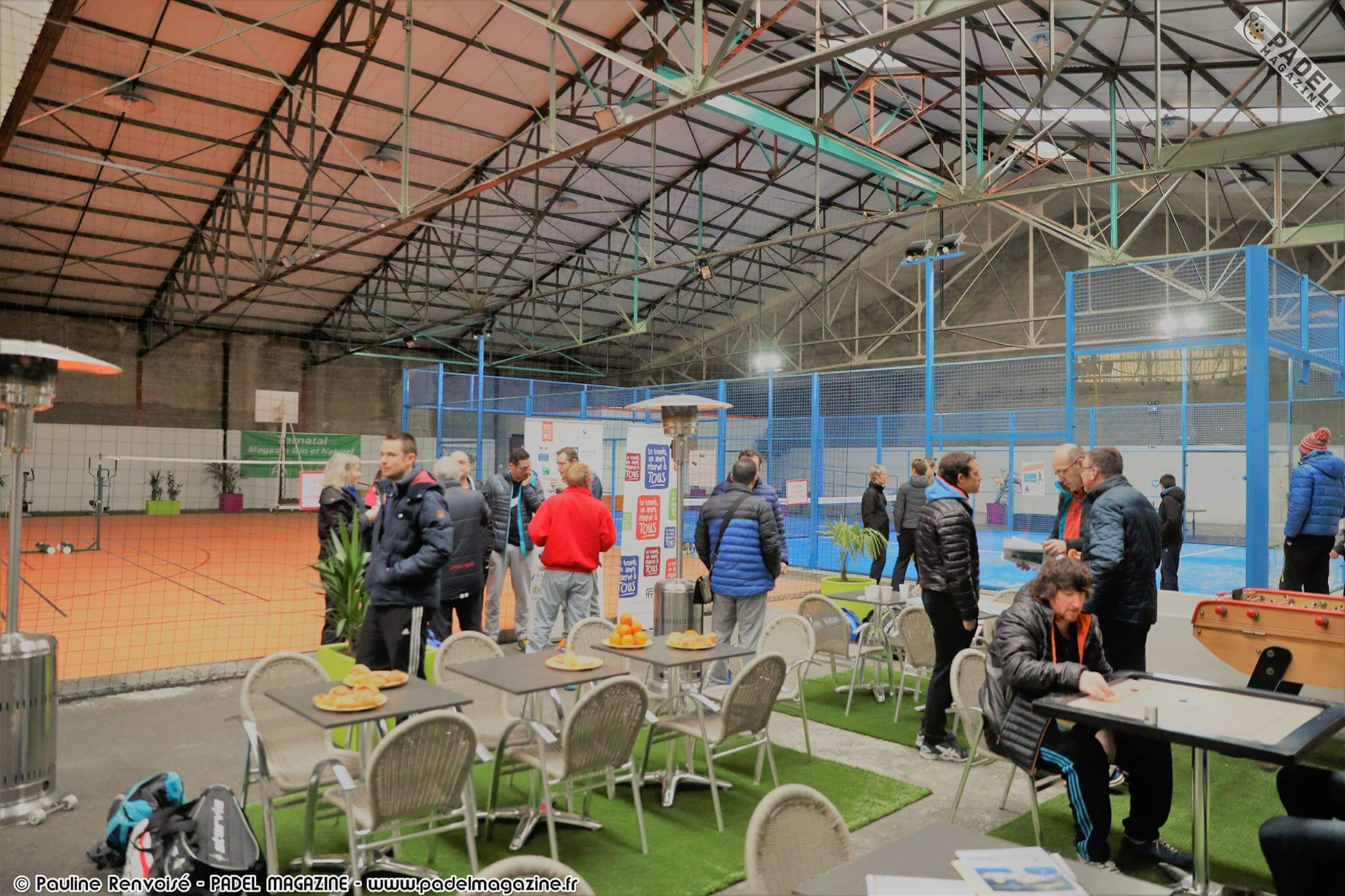 Place in the padel in Champagne!