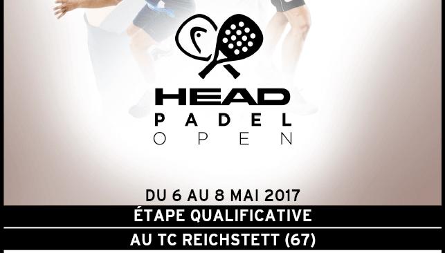 Head Padel Open bientôt à reichstett