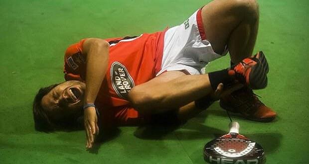Que lesiones a Padel ?