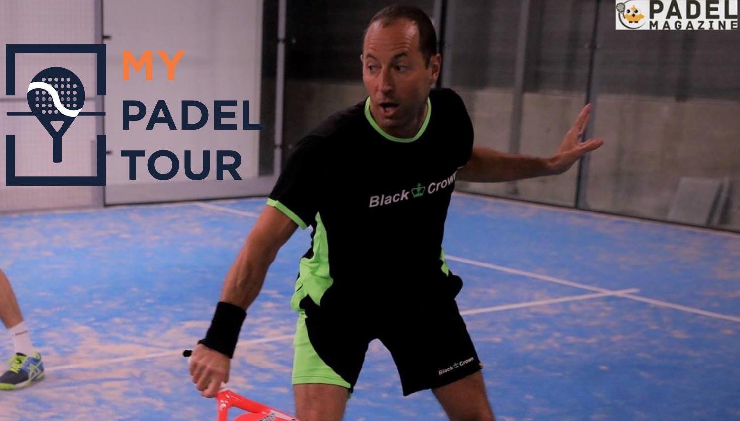 Fabien Veber sur MY Padel Tour