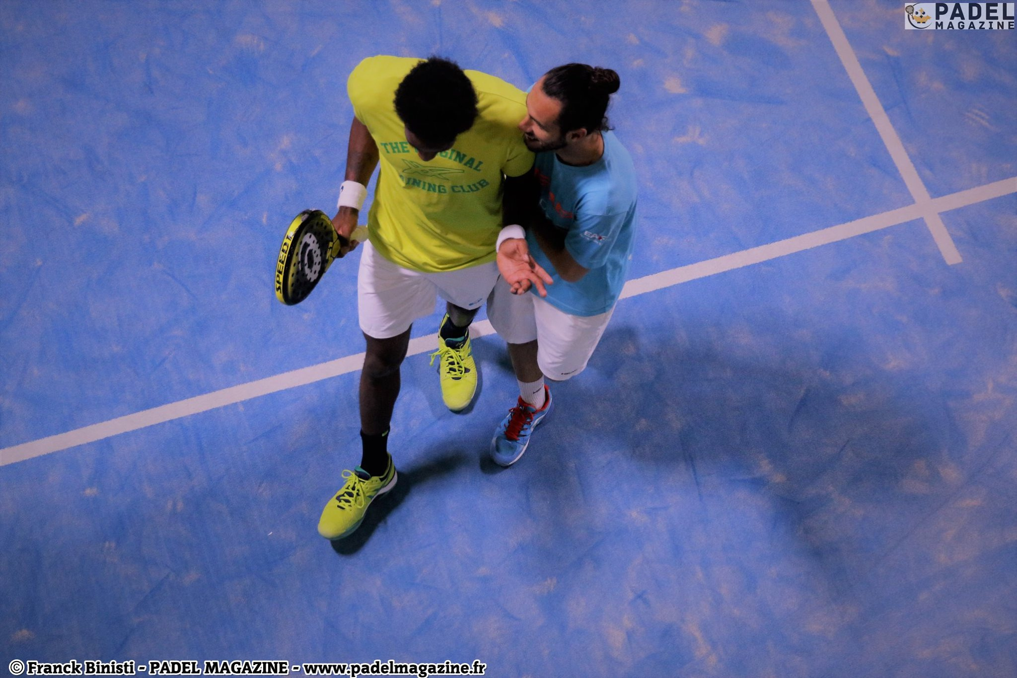 Gael Monfils championships of France padel or not?