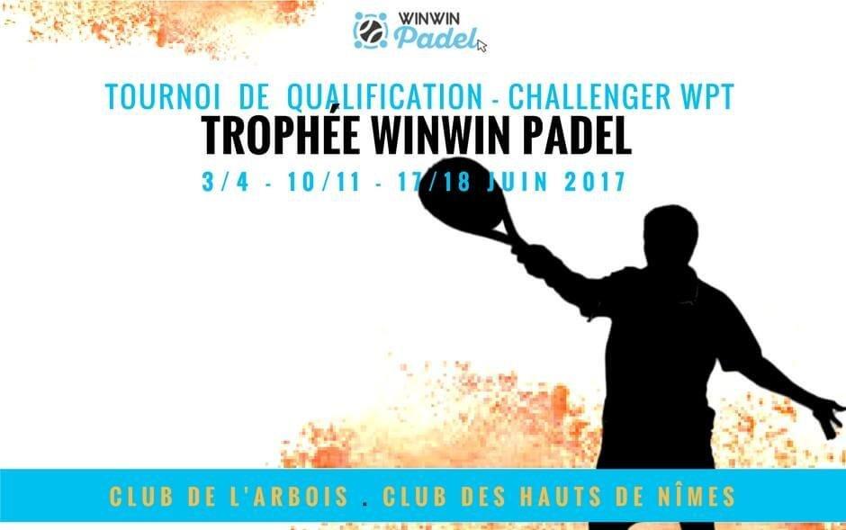 Qualifiez-vous pour le Challenger WPT / WinWin Padel