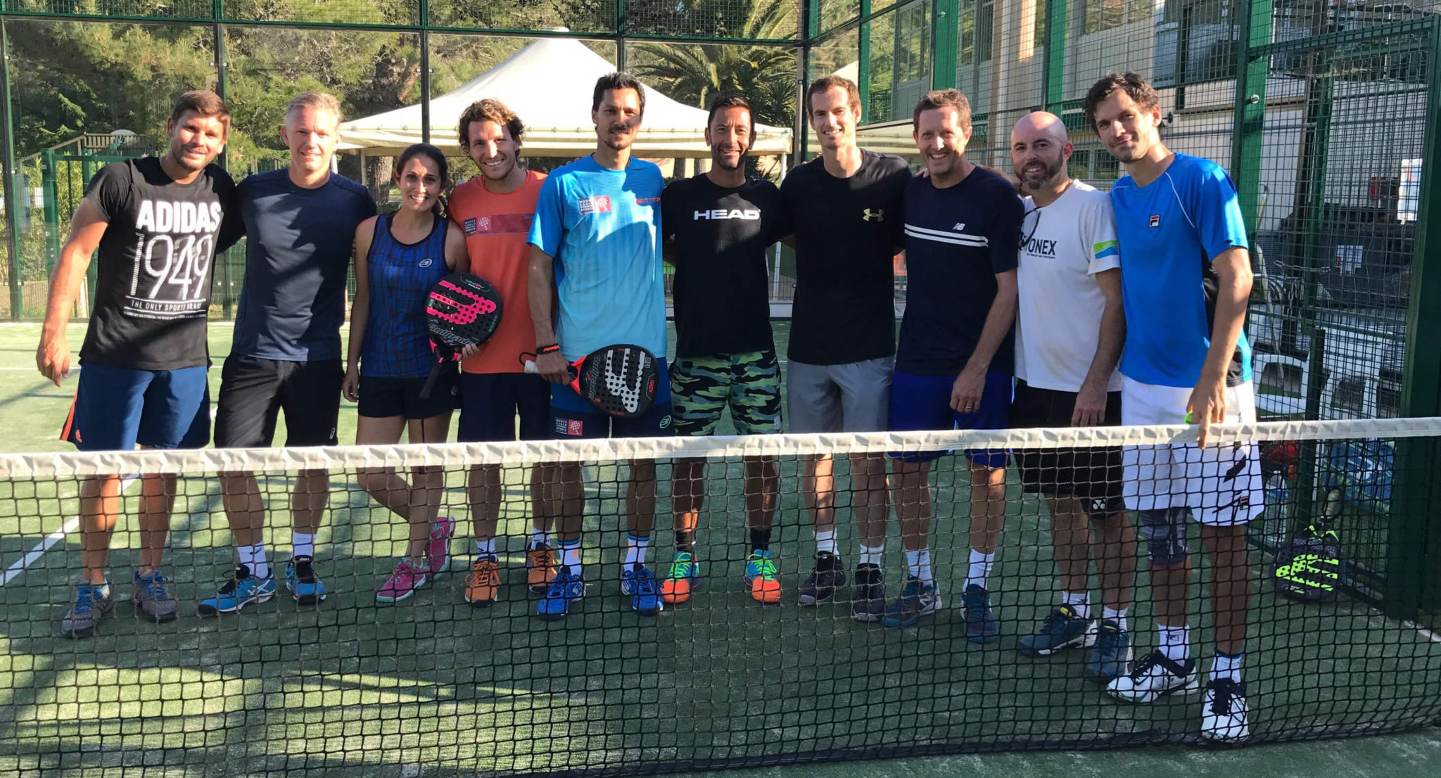 Andy Murray, una carriera in padel ?