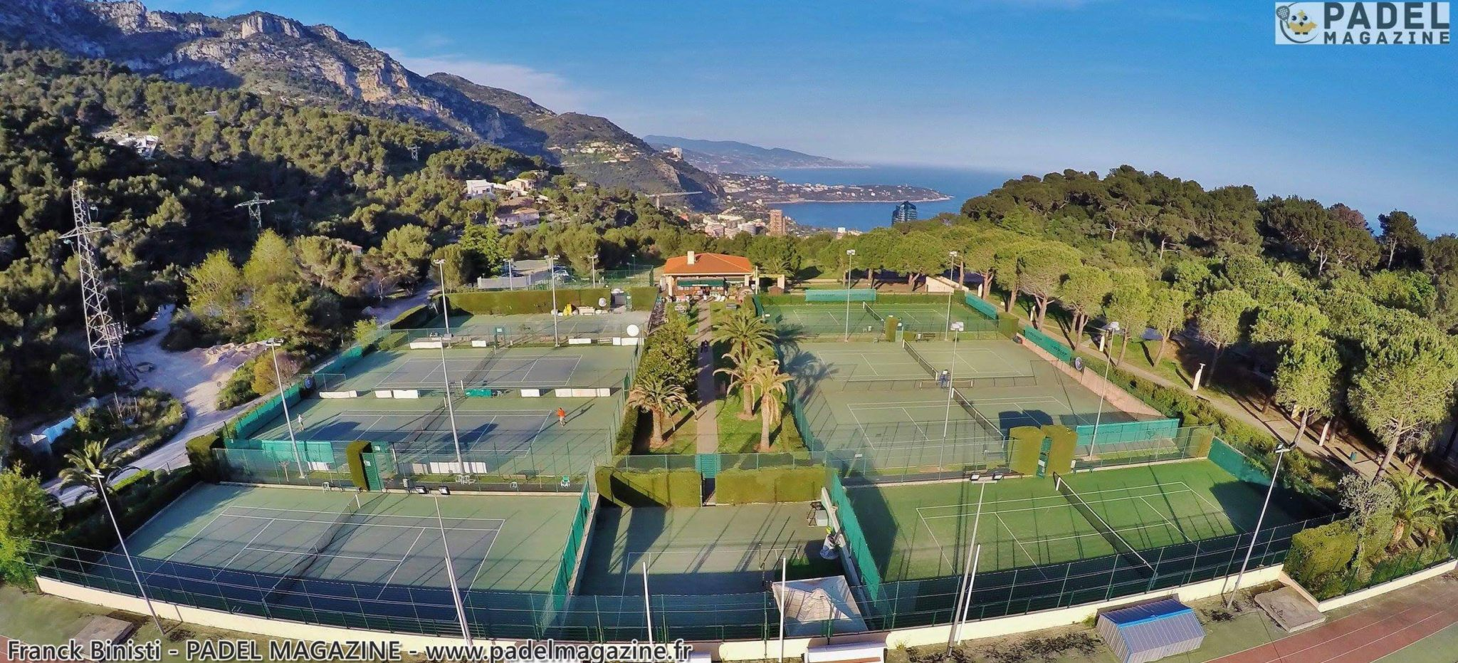 テニスの発足で重い Padel サン