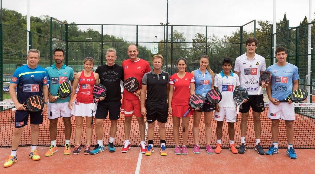 La squadra sportiva internazionale di Monte Carlo in Italia