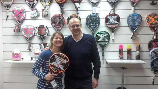 "Kristina Clément: ""Nox, a great brand of padel"""