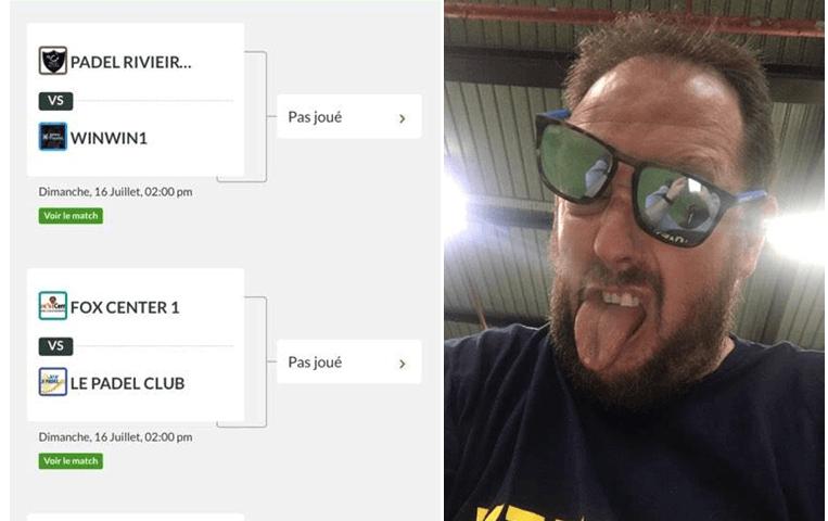 François Luzinar attende il Padel Coppa Club / Setteo Team