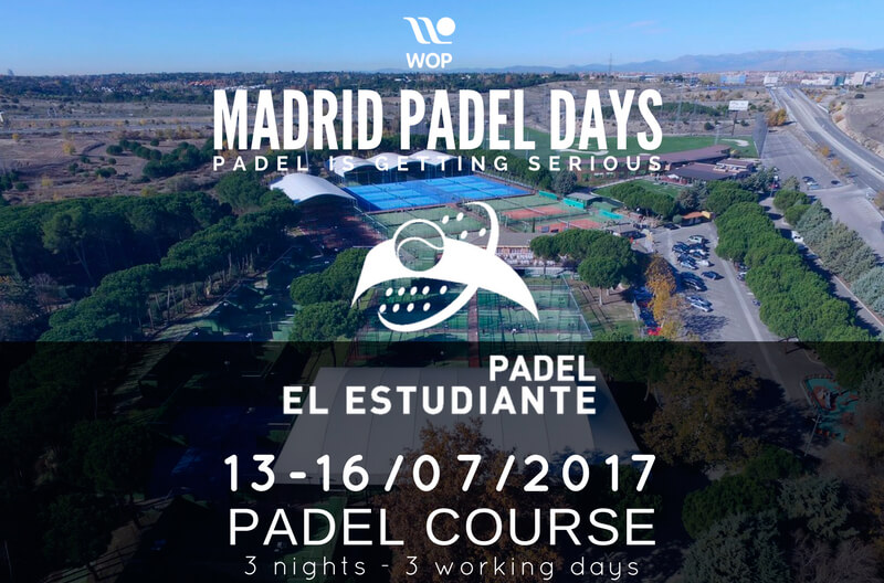 Du 13 au 17 juillet au Madrid Padel Days