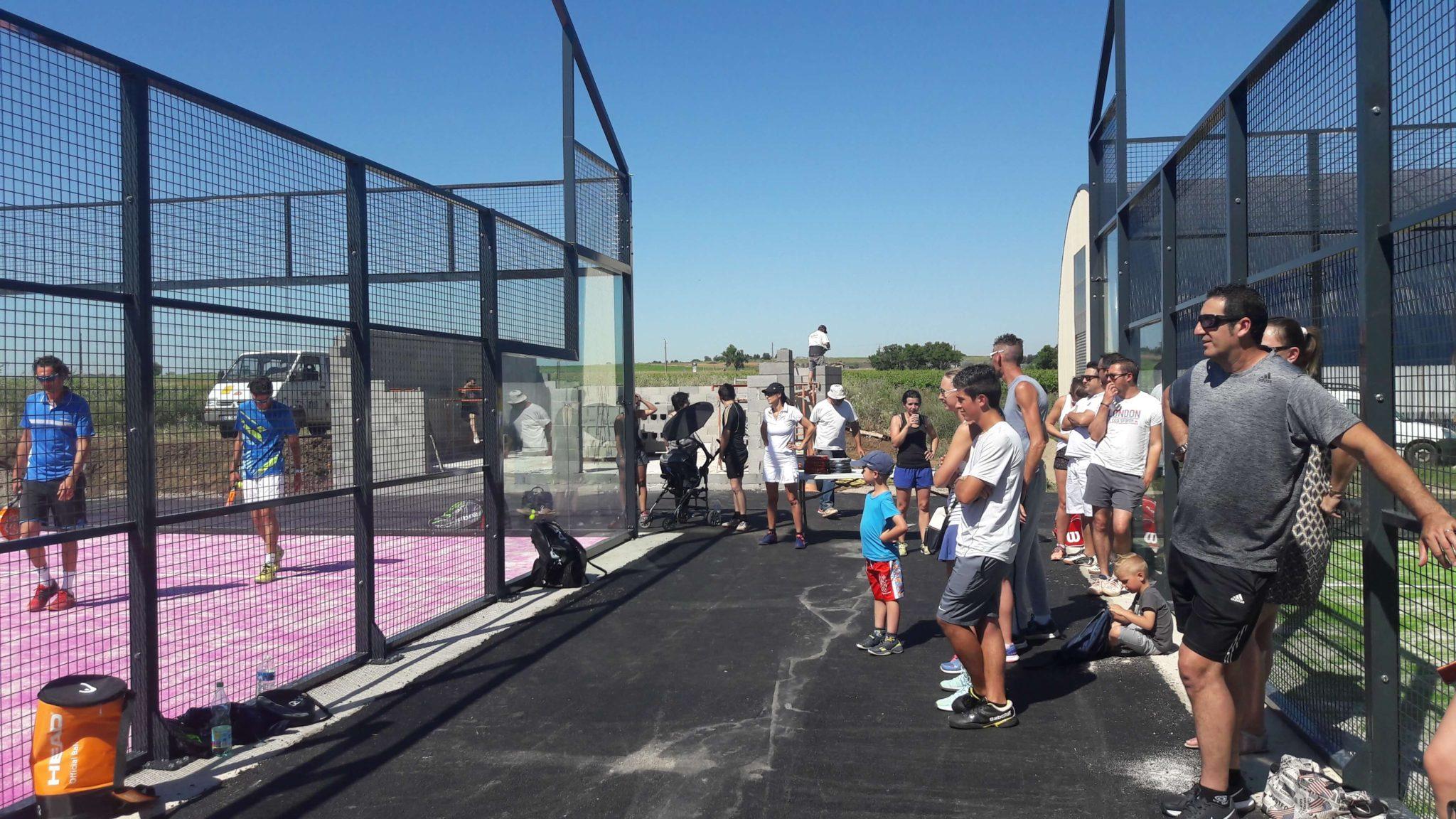 Le Tennis Club de la Vière : «Un vrai club de padel»