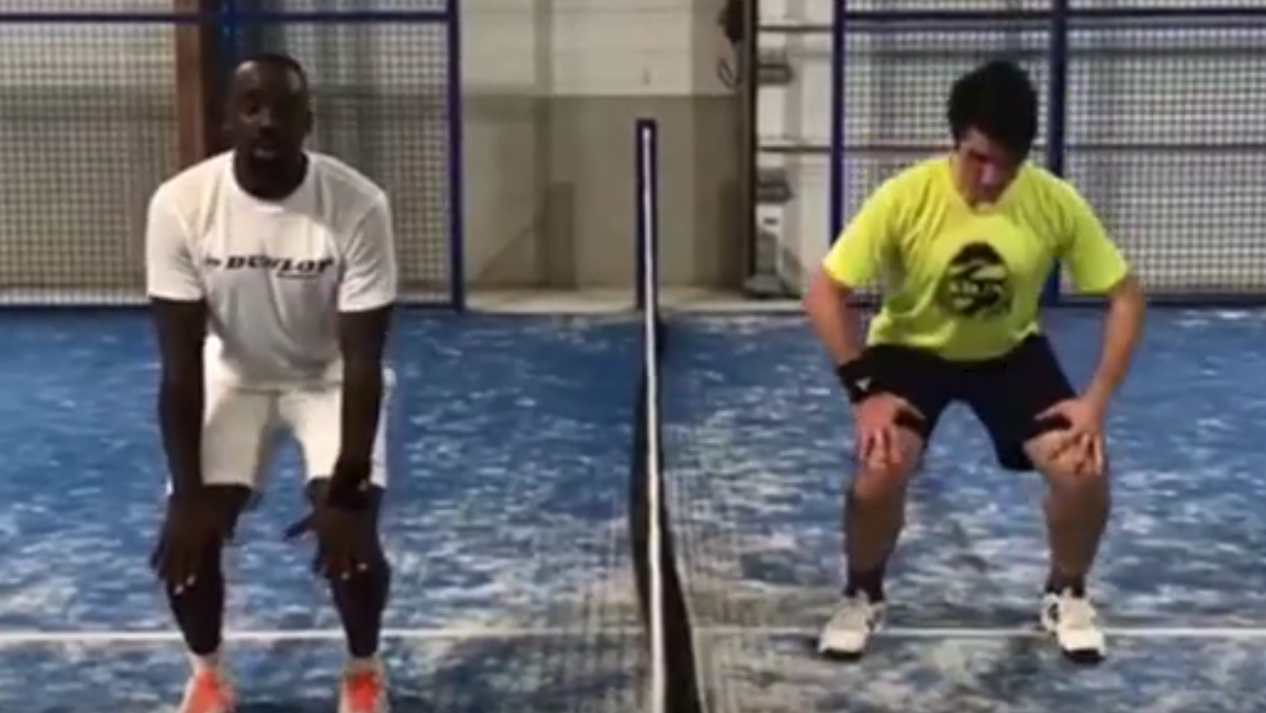 How to warm up properly padel ?