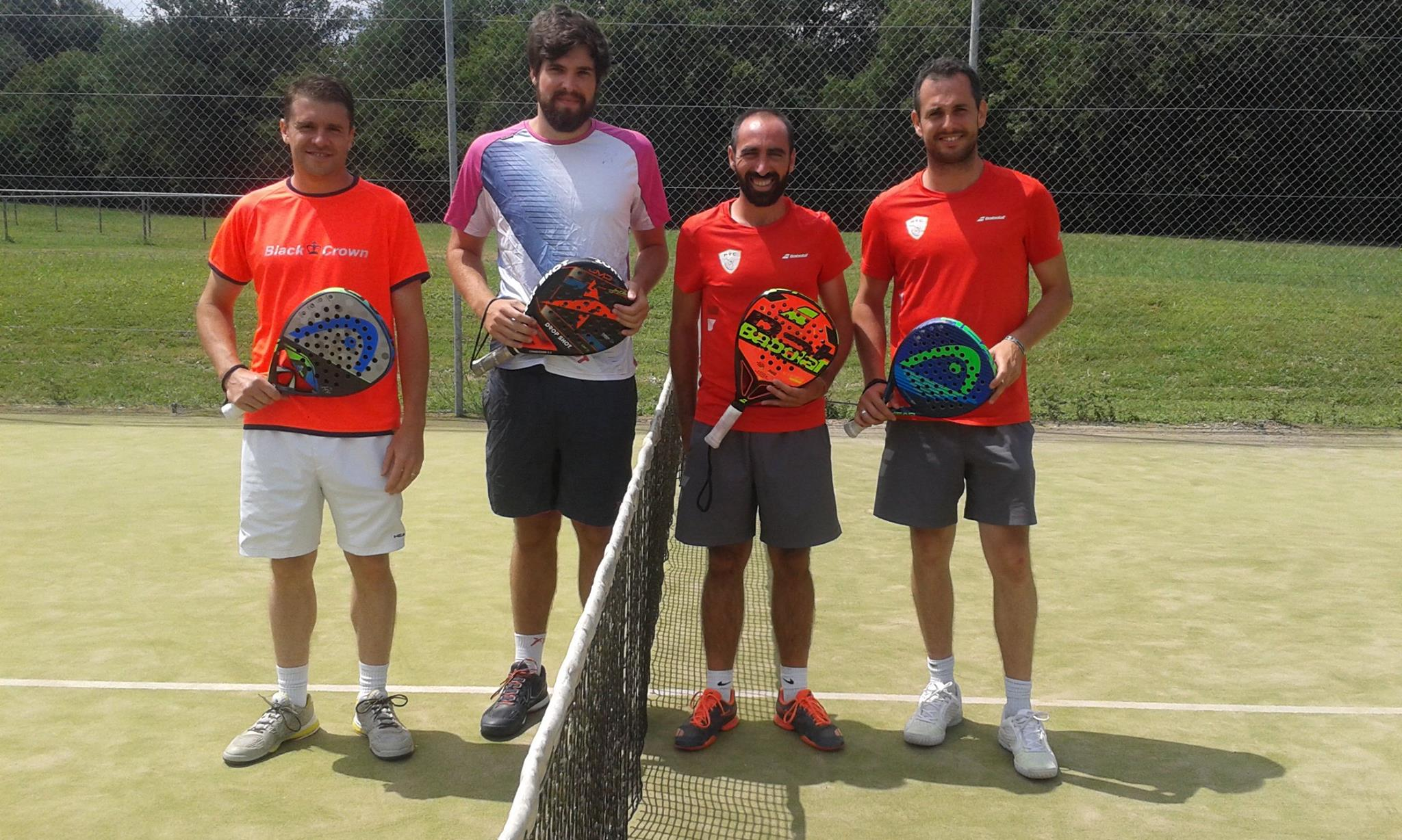 Yoann Roumy och Étienne Dubernet de Garros på Open du Castres Occitan Padel