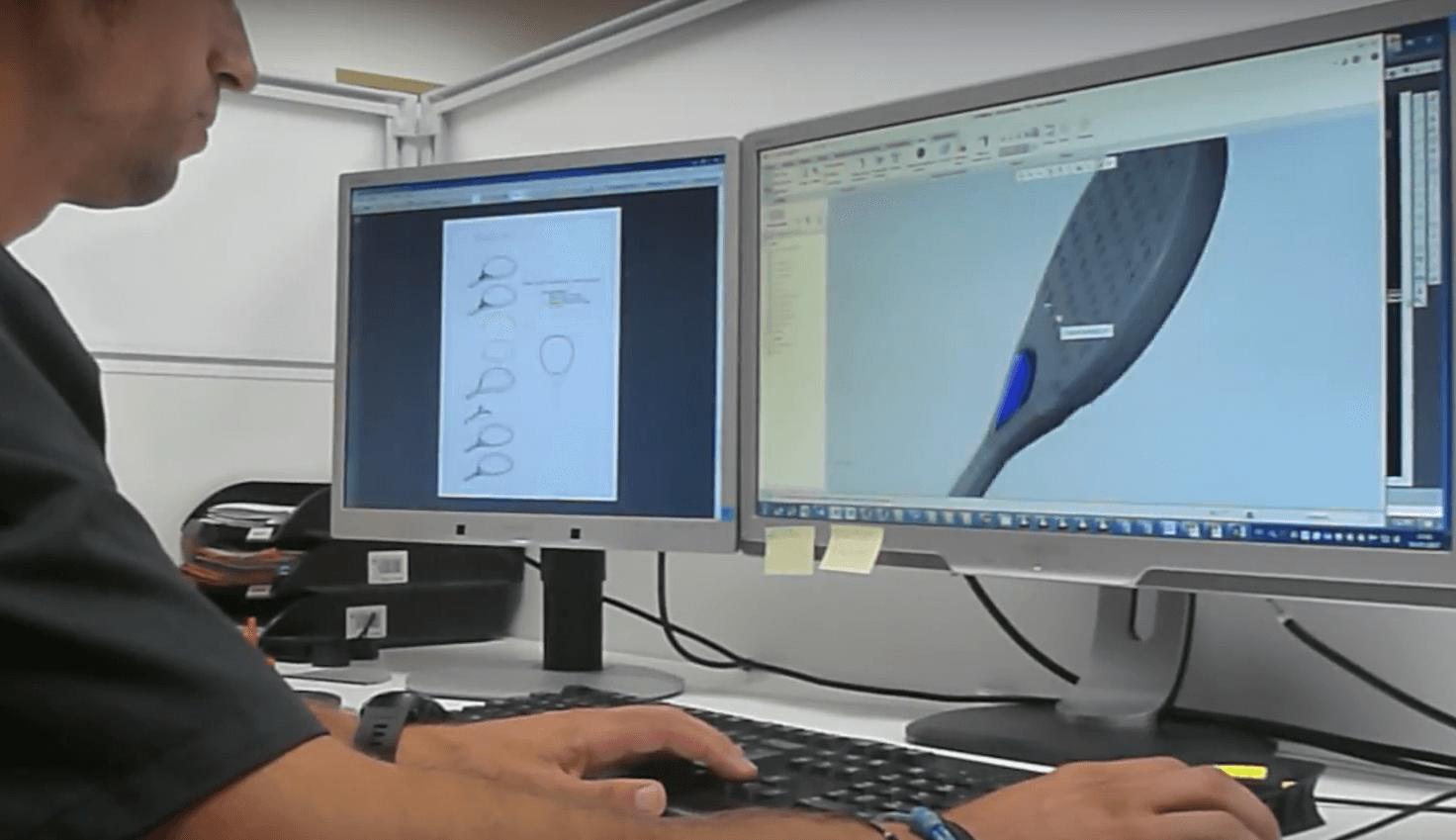 Le process de fabrication d'une raquette de padel