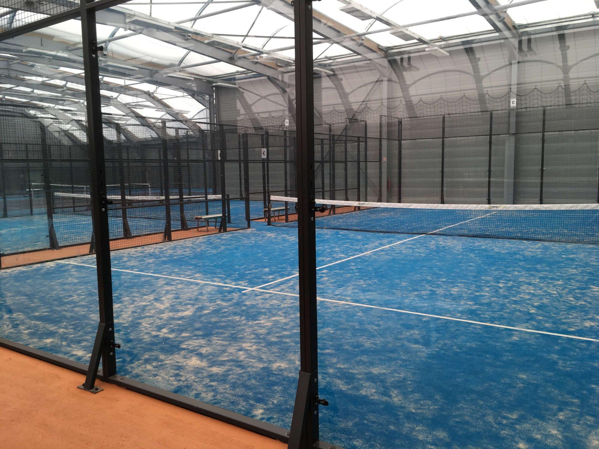 Le padel intègre le club de tennis d'Angers